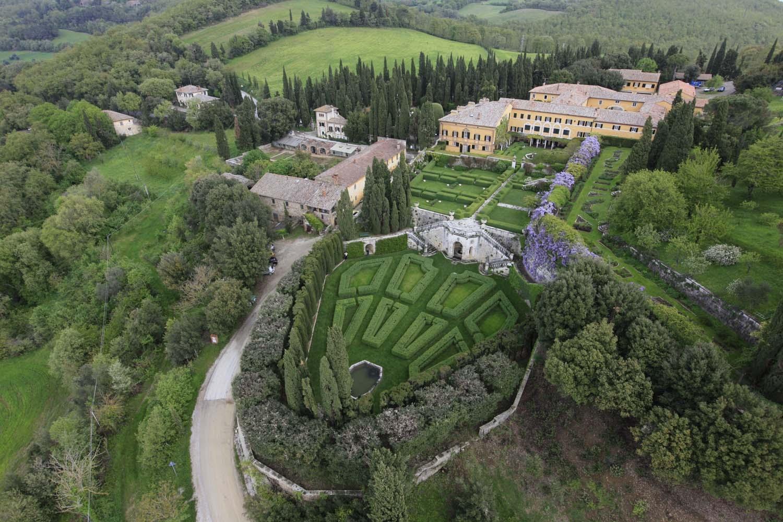 Villa La Foce a Chianciano Terme (Toscana)