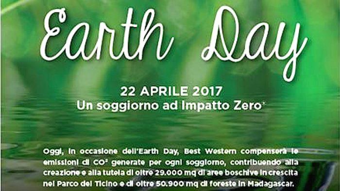 Best Western, soggiorni a Impatto Zero per l'Earth Day