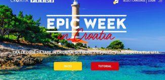 Epic week - una settimana straordinaria in Croazia