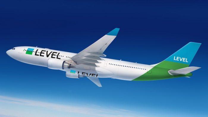 L'A330 di Level