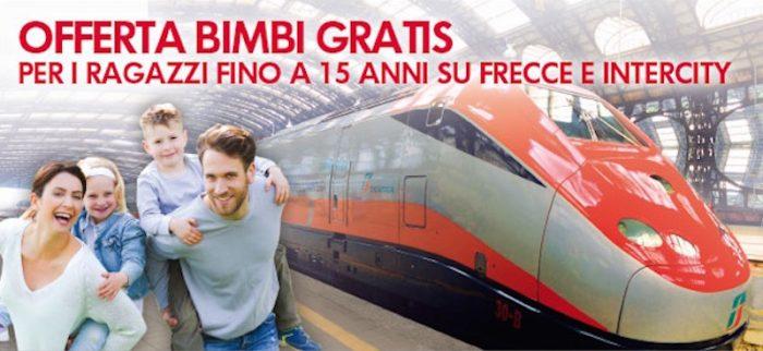 Bimbi gratis con Trenitalia