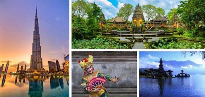 Dubai e Bali con Originaltour