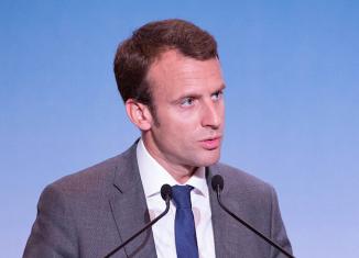 Emmanuel Macron. Foto Wikipedia