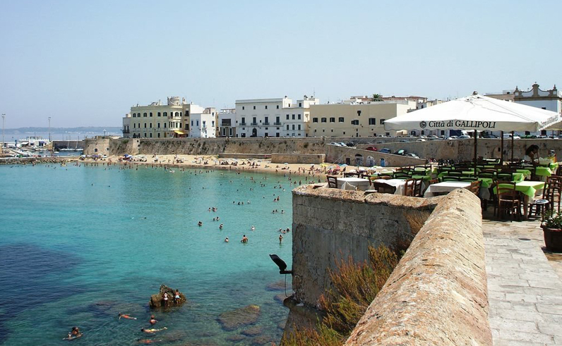 Gallipoli e Polignano, regine d'estate