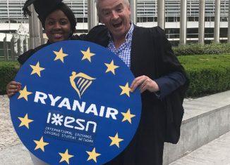 ryanair Erasmus