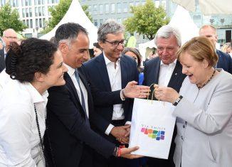 Rimini romagna Merkel