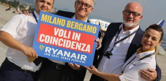 Ryanair voli in coincidenza