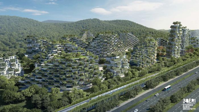 Liuzhou Forest City di Stefano Boeri Architetti