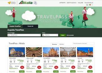 alitalia travelpass