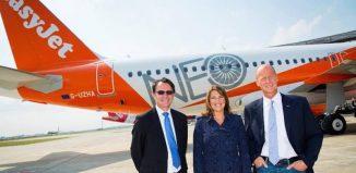 easyJet ha ricevuto il primo di 130 aeromobili Airbus A320neo