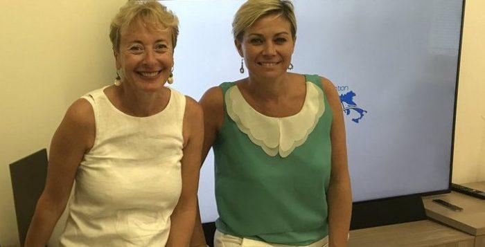 Elena David, amministratore delegato di Valtur, e Carlotta Ferrari, presidente del Convention Bureau Italia