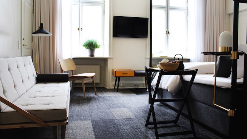 Copenhagen aperto un boutique hotel con vigneto e area for Design boutique hotels copenhagen