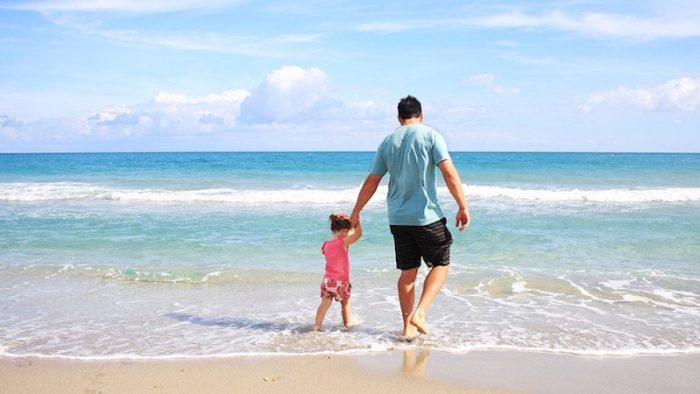In vacanza aumentano le coppie formate da genitore single e figlio