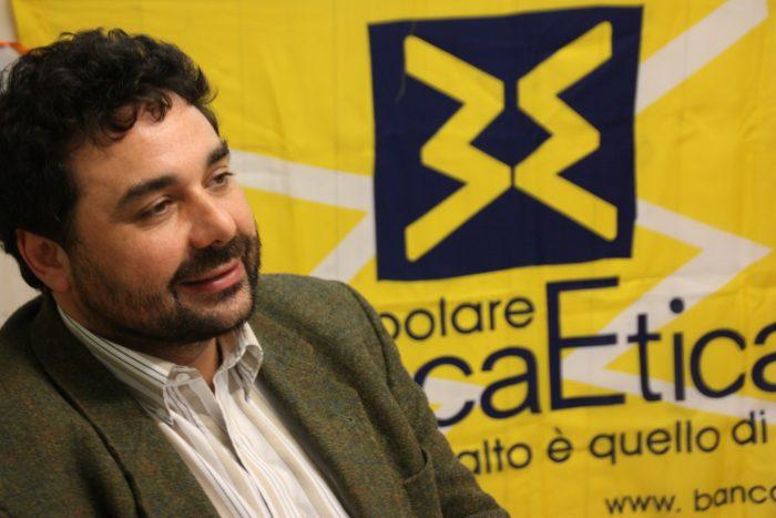 Ugo Biggeri, presidente di banca Etica
