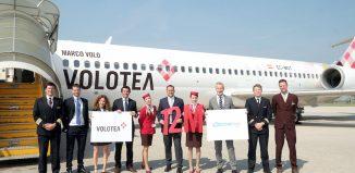Volotea festeggia il passeggero numero 12 milioni