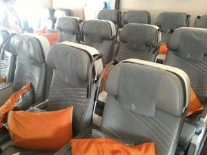 La premium economy dell'A350-900 di Singapore Airlines