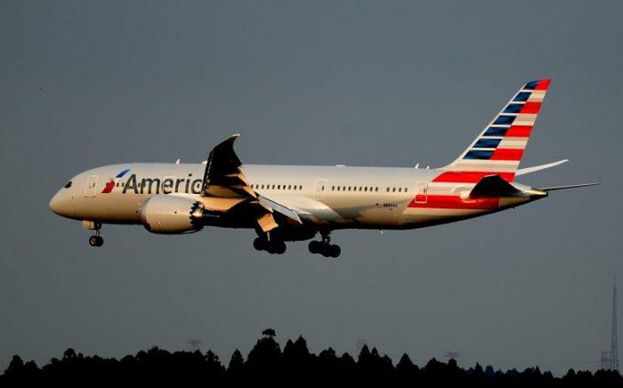 Boeing 787-8 Dreamliner di American Ailines: volerà da Venezia a Chicago