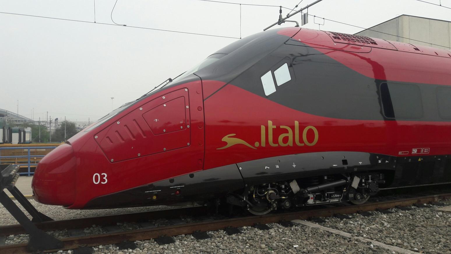 Ntv, Italo e Alstom presentano nuovo pendolino EVO