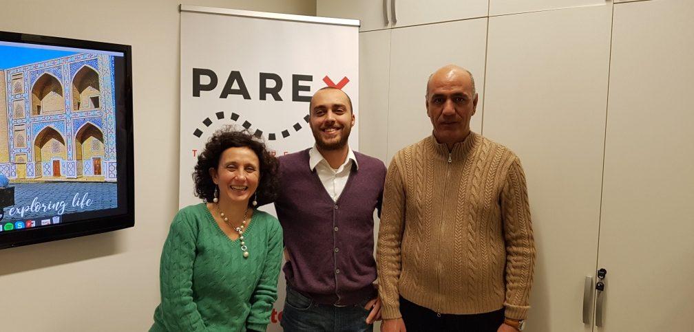Staff Parextour da sin Gentile, Chiarappa, Zhodi