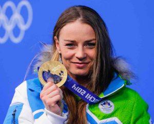 campionessa olimpica Tina Maze