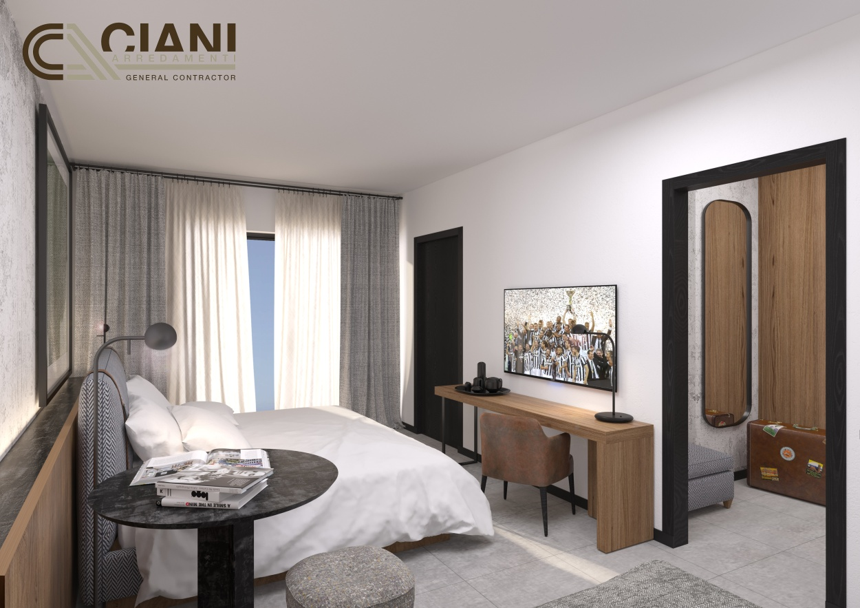 Vicino all 39 allianz stadium sorger j hotel l 39 albergo di for Cioni arredamenti montelupo