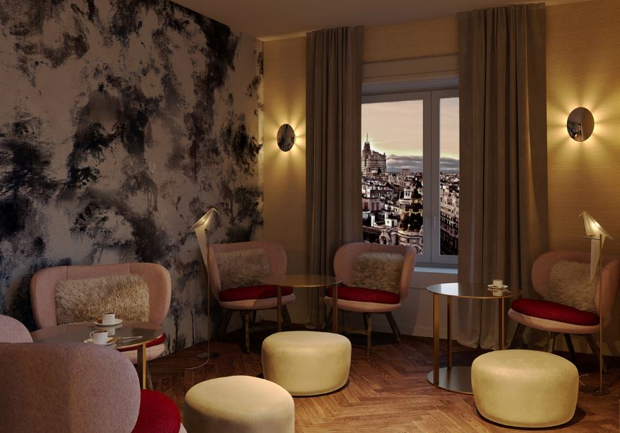 Nh hotel group inaugura a madrid il nuovo nh collection for Quattro stelle arredamenti